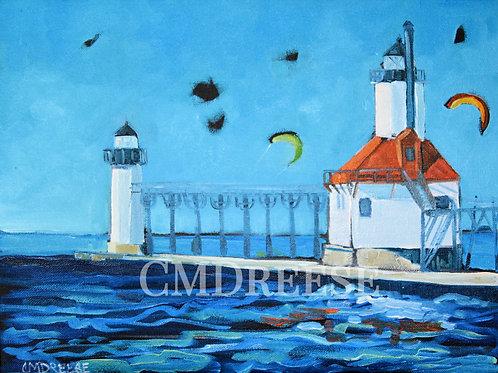 """St. Joseph Lighthouse"" Print"