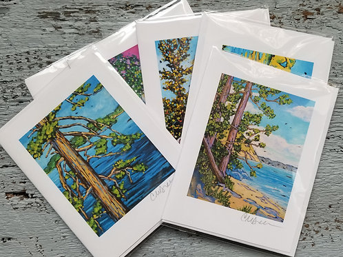 Season's Notecards Signed by Christi Dreese