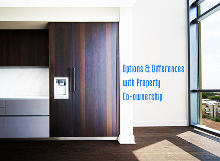 Options and Differences with Property Co-ownership