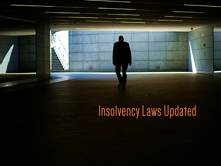 Insolvency Laws Updated