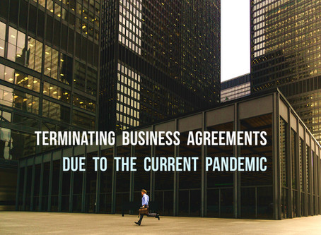 Terminating A Business Agreement Due To COVID-19