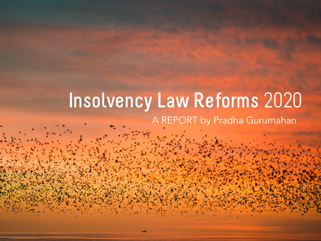Insolvency Law Reforms 2020