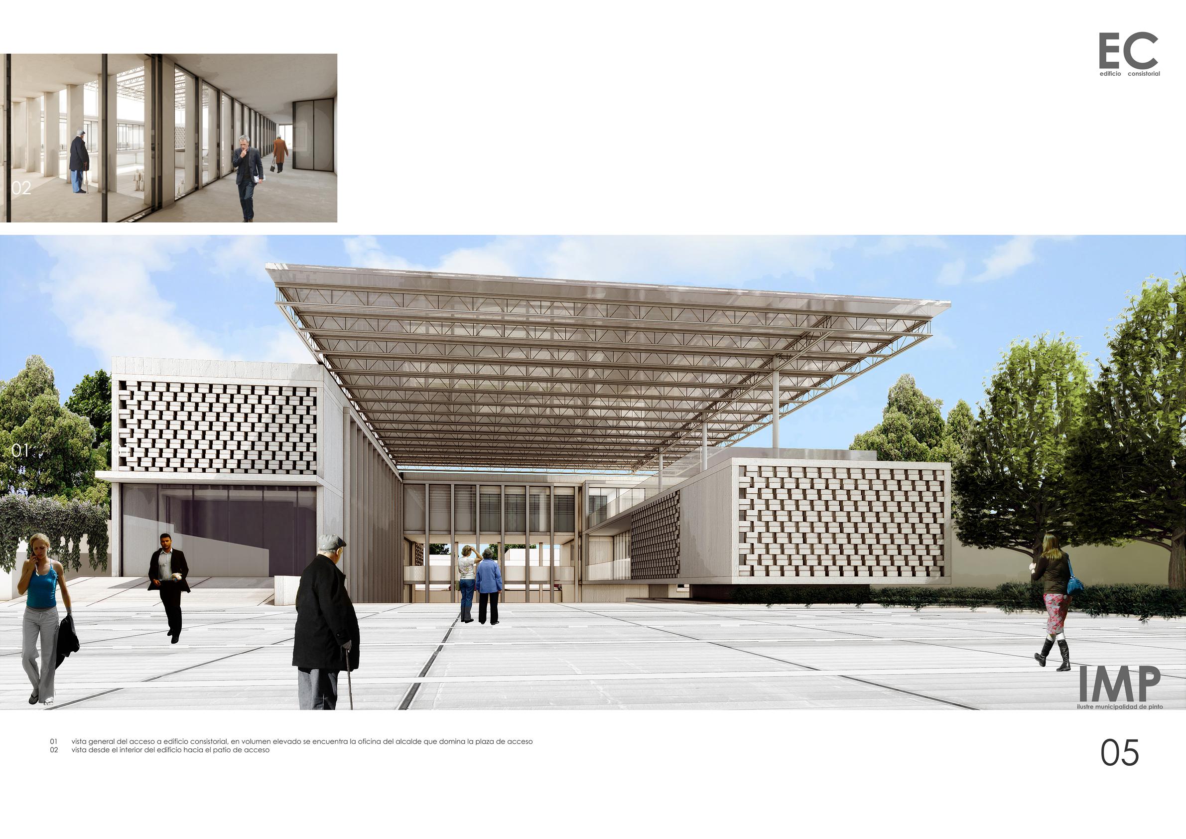 Edificio Consistorial de Pinto