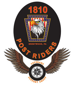 1810 Post Riders Patch