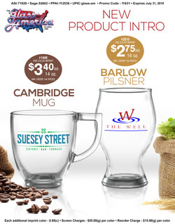 Mug and Pilsner Web Ad