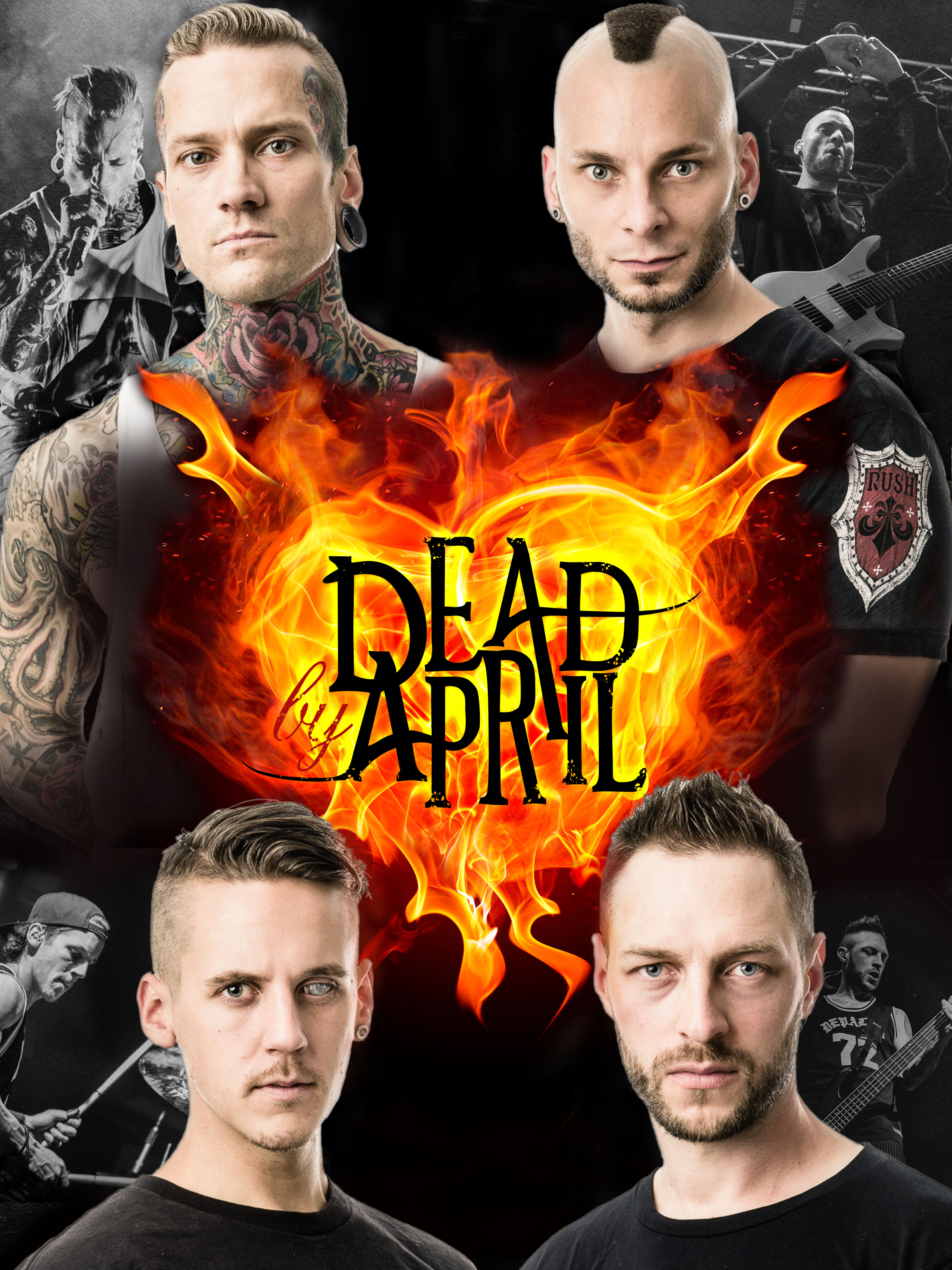 Dead By April Poster