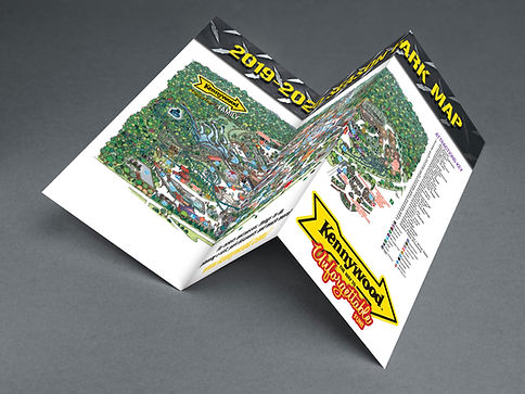 Kennywood Brochure Back