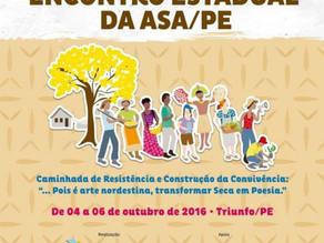 Agricultores e agricultoras se reúnem em Triunfo para o Encontro Estadual da ASA/PE