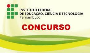 Instituto Federal de Pernambuco divulga editais para concurso público