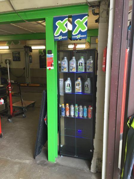 Eingangsbereich Garage