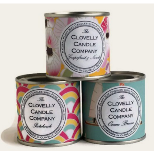 The Clovelly Soap Co - Paint Pot Candles - various scents available