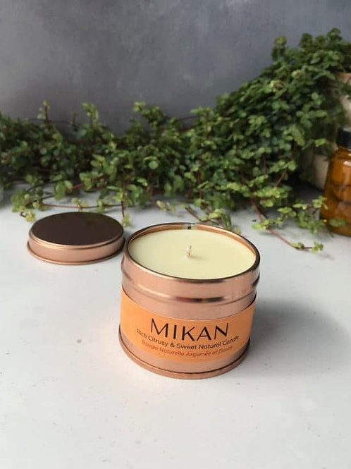 Mythyn - Mikan Energising Natural Sustainable Candle