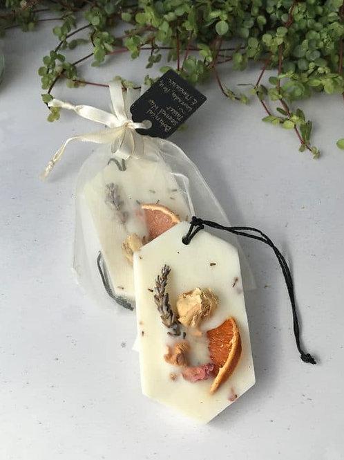 Mythyn - Botanical Scented Wax Tablet - Mandarin, Rose & Lavender