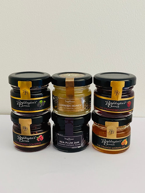6 x Mini Jam's & Honey