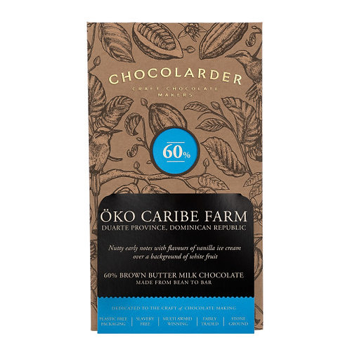 Chocolarder - Öko Caribe 60% Browned-Butter Milk