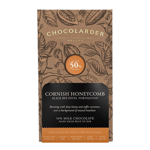 Chocolarder - Cornish Honeycomb 50% Milk