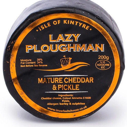 Lazy Ploughman's waxed cheese truckle - 200g