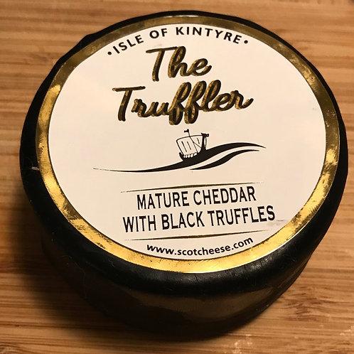 'The Truffler' waxed cheese truckle - 200g