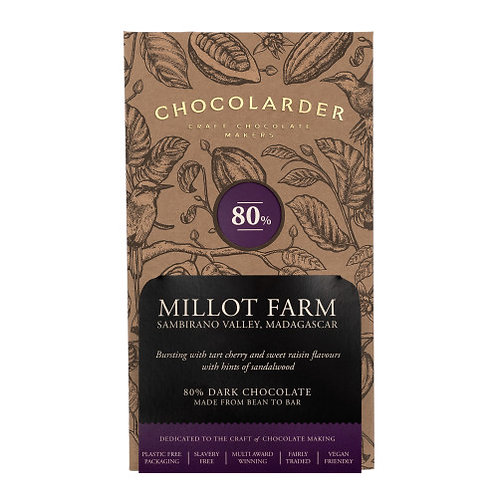 Chocolarder - Millot Farm 80% Dark