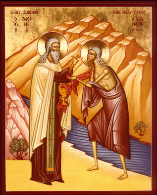 St Mary of Egypt: Charismatic Repentance