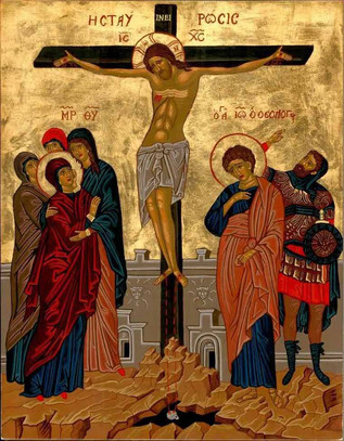 """""""From the Cross one does not come down, one is taken down."""""""