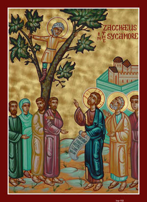 Zacchaeus Sunday