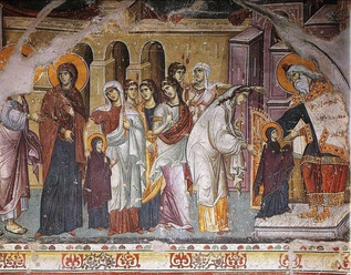 """The Entry of the Theotokos"""