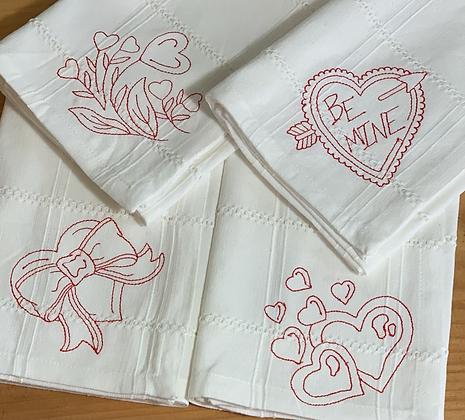 Valentine Napkin/Table Covering