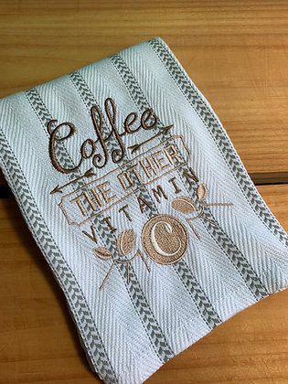 Coffee Obsessed Kitchen Towels