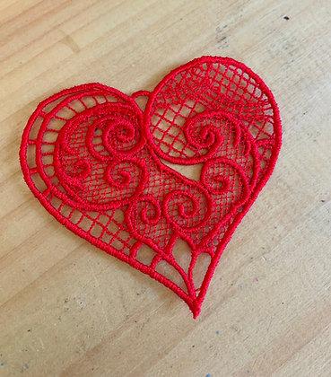 Lace Hearts (medium)