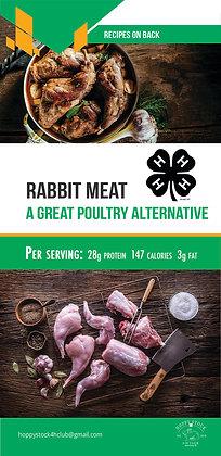 4-H Commercial Rabbit Marketing Brochures