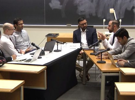 Negotiation, a key skill for international business, practiced by Schulich students