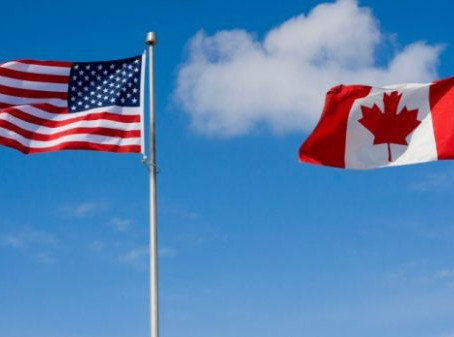 How does the average American feel about trade with Canada?