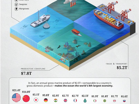 Visual Capitalist: Global Ocean Assets Value