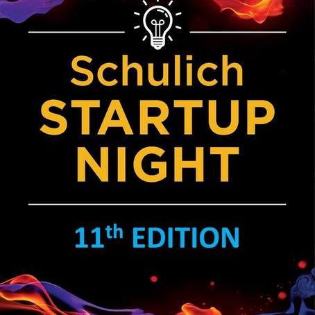 Schulich Startup Night Pitch Application Deadline Near