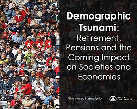 The world is getting older – but why, and what does it mean? This paper discusses  the reasons and impacts on societies and economies.
