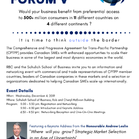 RBC-Schulich Enterprise Forum V Registration Opens