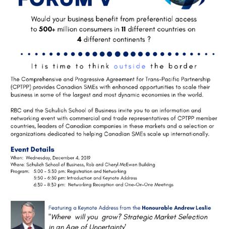 RBC-Schulich Enterprise Forum V Registration Opens