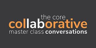 master class conversations logo on. dark