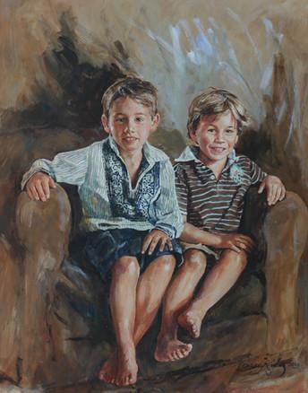 Jamie and Finn