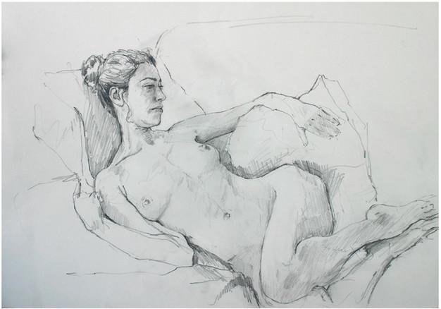 study reclining