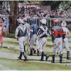 Before the race, Ascot