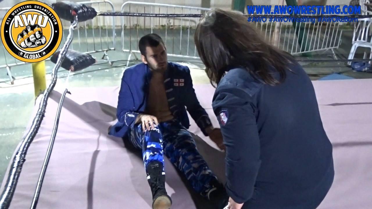 Breaking News... Ben Barel Injured !!!