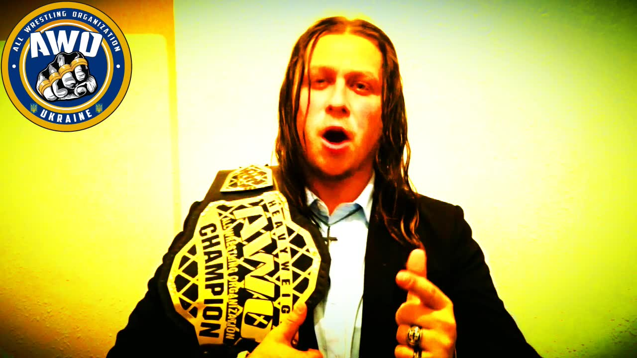AWO world heavyweight champion BlonDevil is in Odessa!