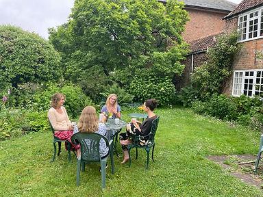 Retreat; girls on lawn 1.jpg