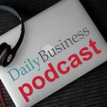 DAILY BUSINESS Podcast LogoTM - Square.j