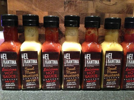 El K Sauces 3 for £10.00