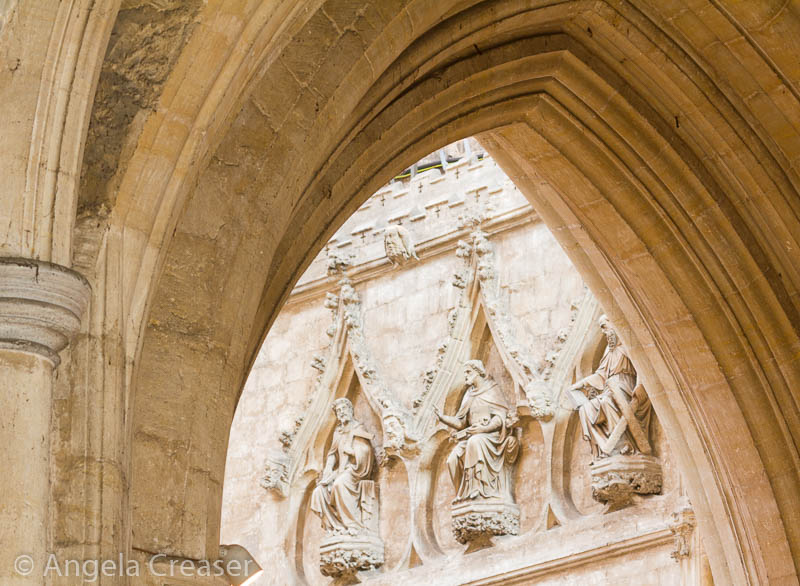 Arches, Ely Cathedral, England