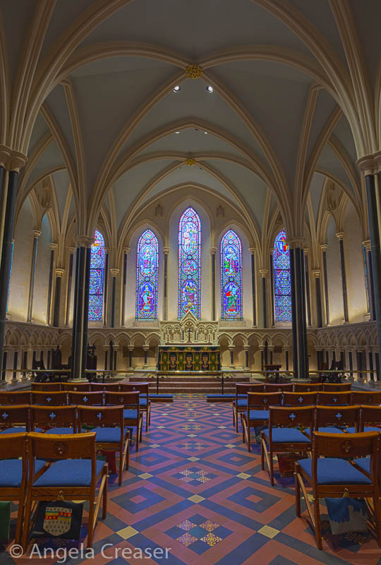 Inside of Saint Patrick's Cathedral
