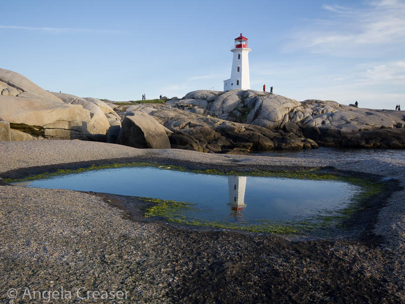 Peggy's Cove, Lighthouse Reflection